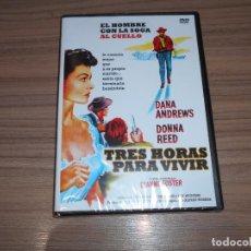 Cine: TRES HORAS PARA VIVIR DVD DONNA RED DANA ANDREWS NUEVA PRECINTADA. Lote 218920925