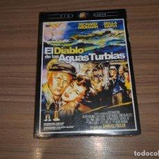 Cine: EL DIABLO DE LAS AGUAS TURBIAS DVD RICHARD WIDMARK NUEVA PRECINTADA. Lote 218921008