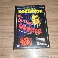Cine: EL ULTIMO GANGSTER DVD EDWARD G. ROBINSON JAMES STEWART JOHN CARRADINE NUEVA PRECINTADA. Lote 218921105