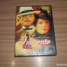 Cine: EL INOCENTE DVD DE LUCHINO VISCONTI GIANCARLO GIANNINI LAURA ANTONELLI NUEVA PRECINTADA. Lote 218921546