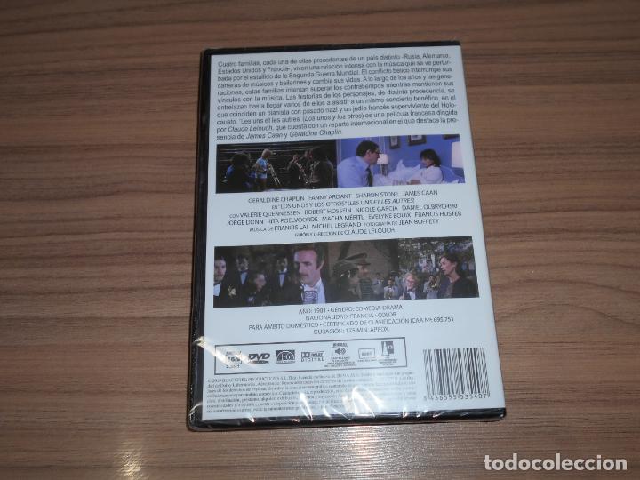 Cine: Los UNOS y Los OTROS DVD Geraldine Chaplin SHARON STONE James Caan NUEVA PRECINTADA - Foto 2 - 278679208