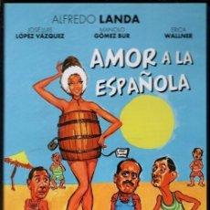 Cine: AMOR A LA ESPAÑOLA DVD (ALFREDO LANDA Y CIA.) EN VERANO SE ABRE LA VEDA DE LA CAZA DE ESCANDINAVAS. Lote 240521150
