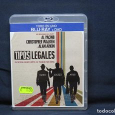 Cine: TIPOS LEGALES - BLU RAY + DVD. Lote 219302583