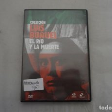 Cine: (1-B0) - 1 X DVD - COLECCION LUIS BUÑUEL EL RIO Y LA MUERTE. Lote 219302818