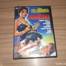 Cine: LA PROVINCIANA DVD GINA LOLLOBRIGIDA NUEVA PRECINTADA. Lote 243548915