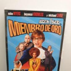 Cine: AUSTIN POWERS EN MIEMBRO DE ORO - DVD. MIKE MYERS, BEYONCÉ, MICHAEL CAINE. (ENVÍO 2,40€). Lote 219440621