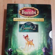Cine: BAMBI EDICIÓN ESPECIAL + BAMBI 2 (LA COLECCIÓN DE PELÍCULAS DE BAMBI) DVD. Lote 219447571