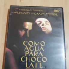 Cine: COMO AGUA PARA CHOCOLATE (DVD) UN FILM DE ALFONSO ARAU. Lote 219447688