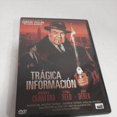 Cinema: 18948 TRÁGICA INFORMACIÓN -DVD SEGUNDA MANO. Lote 219467773