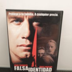 Cinema: FALSA IDENTIDAD - DVD. JOHN TRAVOLTA, VINCE VAUGHN, STEVE BUSCEMI.. Lote 219566795