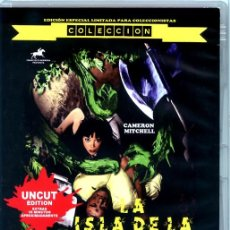 Cine: LA ISLA DE LA MUERTE DVD EDICIÓN OFICIAL ESPECIAL LIMITADA PARA COLECCIONISTAS COLECCIÓN FANTATERROR. Lote 219723481