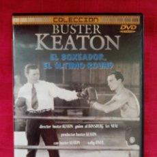 Cine: DVD PELÍCULA 1226. BUSTER KEATON. EL BOSEADOR. EL ÚLTIMO ROUND.. Lote 220060938