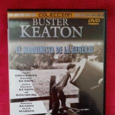 Cine: DVD PELÍCULA 1926. BUSTER KEATON. EL MAQUINISTA DE LA GENERAL. Lote 220061760