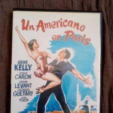 Cine: DVD PELÍCULA 1951. UN AMERICANO EN PARÍS. VINCENTE MINNELLI. GENE KELLY, LESLIE CARON, OSCAR LEVANT. Lote 220062103