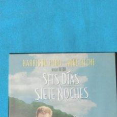 Cine: SIETE DÍAS Y SIETE NOCHES (HARRISON FORD Y ANNE HECHE). Lote 220128561