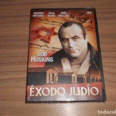 Cine: EXODO JUDIO DVD BOB HOSKINS NAZIS NUEVA PRECINTADA. Lote 269216223