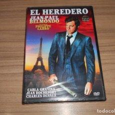 Cinema: EL HEREDERO DVD JEAN-PAUL BELMONDO NUEVA PRECINTADA. Lote 287692873