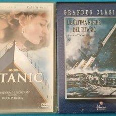 Cine: LOTE TITANIC - MODERNA Y ANTIGUA. Lote 220241040