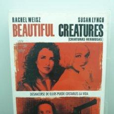 Cinema: BEAUTIFUL CREATURES (CRIATURAS HERMOSAS) - DVD. RACHEL WEISZ, IAIN GLEN.. Lote 220397072