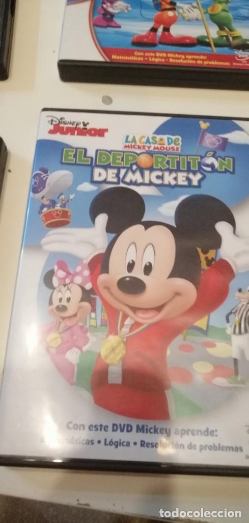 G-42 DVD CINE LA CASA DE MICKEY MOUSE EL DEPORTITON DE MICKEY (Cine - Películas - DVD)