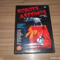 Cine: ROBOTS ASESINOS DVD TERROR NUEVA PRECINTADA. Lote 295039053