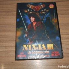 Cine: NINJA III LA DOMINACION DVD NUEVA PRECINTADA. Lote 269216878