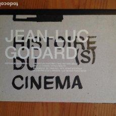Cine: COFRE GODARD HISTOIRE (S) DU CINEMA (INTERMEDIO DVD). Lote 220511655