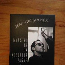 Cine: JEAN LUC GODARD - MAESTRO DE LA NOUVELLE VAGUE. Lote 220516715