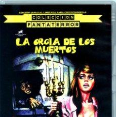 Cine: LA ORGÍA DE LOS MUERTOS EDICIÓN OFICIAL ESPECIAL 2 DVDS LIMITADA PARA COLECCIONISTAS PAUL NASCHY. Lote 218763528