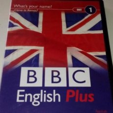 Cine: 'BBC ENGLISH PLUS', Nº 1. CURSO DE INGLÉS EN DVD. BUEN ESTADO.. Lote 220843922