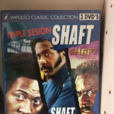Cinema: SHAFT TRPLE SESIÓN DVD - PRECINTADO -. Lote 220844311