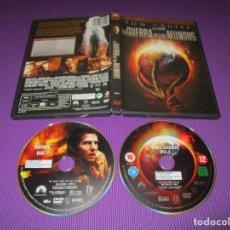 Cinema: LA GUERRA DE LOS MUNDOS - 2 DVD - 81612 - PARAMOUNT -EDICION ESPECIAL- TOM CRUISE - STEVEN SPIELBERG. Lote 220877963