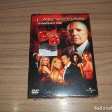 Cine: LAS VEGAS TEMPORADA 1 COMPLETA 6 DVD 930 MIN. NUEVA PRECINTADA. Lote 235182445