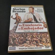 Cinema: 19587 SU EXCELENCIA EL EMBAJADOR -DVD SEGUNDA MANO. Lote 221085501