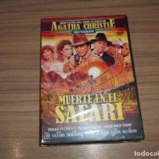 Cine: MUERTE EN EL SAFARI DIEZ NEGRITOS DVD DE AGATHA CHRISTIE DONALD PLEASENCE NUEVA PRECINTADA. Lote 243772410