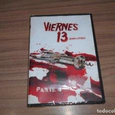 Cine: VIERNES 13 PARTE 4 DVD TERROR NUEVA PRECINTADA. Lote 221248037
