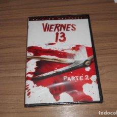 Cine: VIERNES 13 PARTE 2 EDICION ESPECIAL DVD TERROR NUEVA PRECINTADA. Lote 221248060