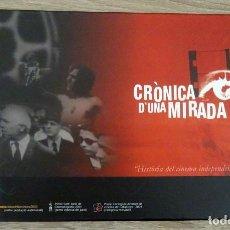 Cine: CRÓNICA D´UNA MIRADA (6 DVD). Lote 221252182
