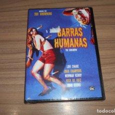 Cine: GARRAS HUMANAS THE UNKNOWN 1972 DVD LON CHANE JOAN CRAWFORD NUEVA PRECINTADA. Lote 277687083