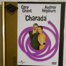 Cine: CHARADA. LIBRO DVD DE LA PELICULA DE STANLEY DONEN. CON CARY GRANT, AUDREY HEPBURN, WALTER MATTHAU,. Lote 221306940