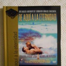 Cine: DE AQUI A LA ETERNIDAD. LIBRO DVD DE LA PELICULA DE FRED ZINNEMANN. CON BURT LANCASTER, DEBORAH KER. Lote 221310097
