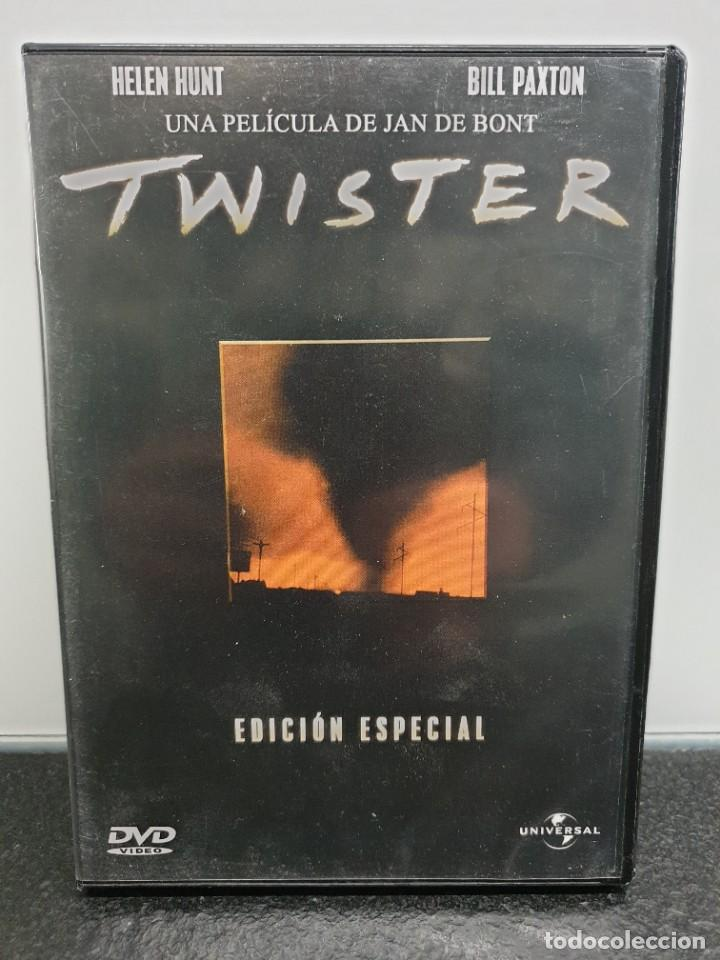 TWISTER - DVD. BILL PAXTON, HELEN HUNT, MICHAEL CRICHTON. (Cine - Películas - DVD)