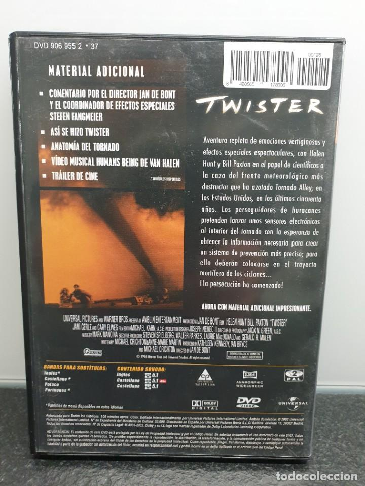 Cine: Twister - DVD. Bill Paxton, Helen Hunt, Michael Crichton. - Foto 2 - 221433953