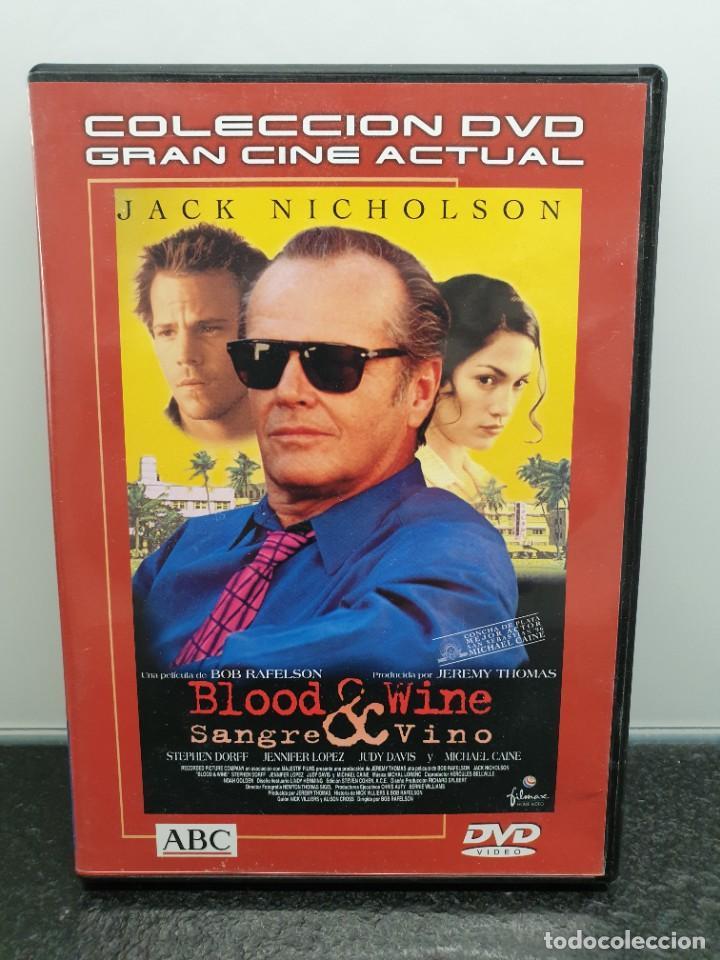 BLOOD & WINE, SANGRE Y VINO - DVD. JACK NICHOLSON, JENNIFER LOPEZ, MICHAEL CAINE (Cine - Películas - DVD)