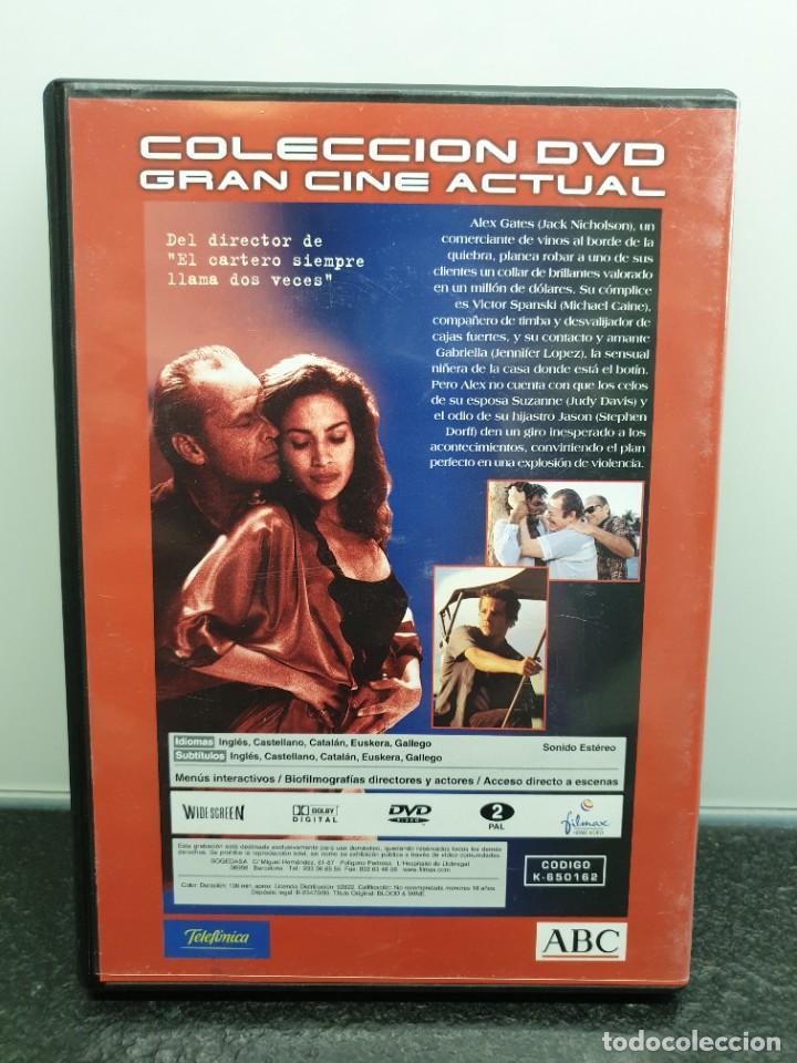 Cine: Blood & Wine, Sangre y Vino - DVD. Jack Nicholson, Jennifer Lopez, Michael Caine - Foto 2 - 221433982