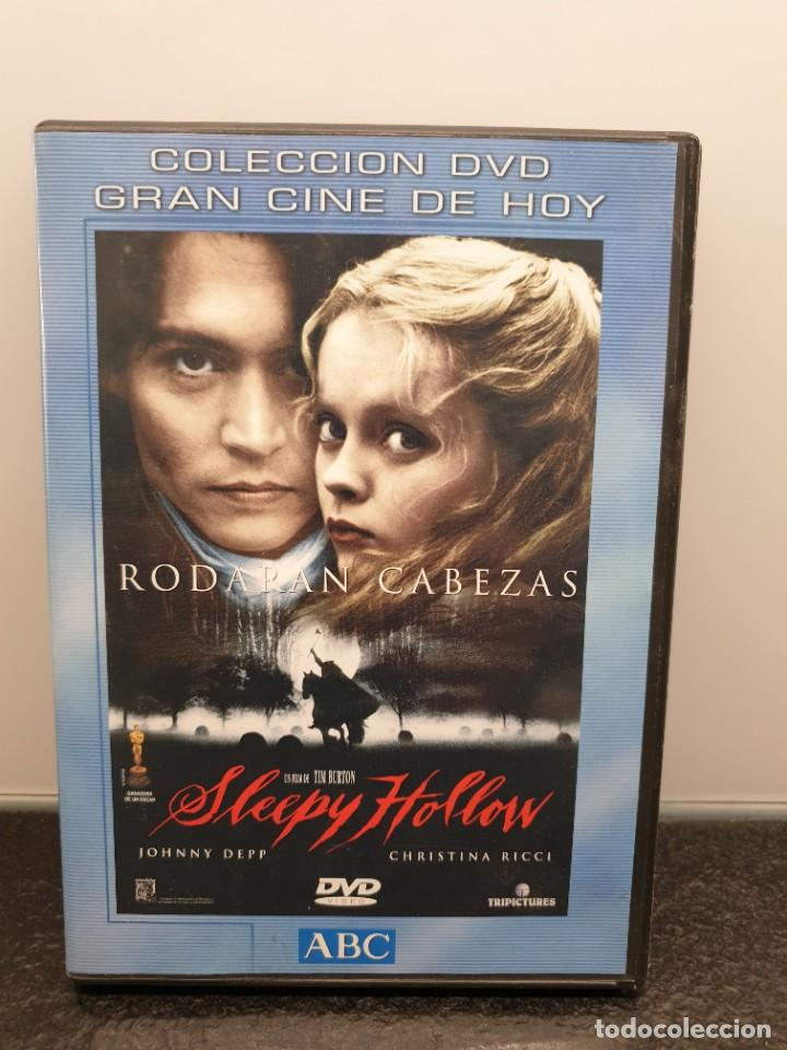 SLEEPY HOLLOW - DVD. TIM.BURTON, JOHNNY DEPP, CHRISTINA RICCI, CHRISTOPHER WALKEN (Cine - Películas - DVD)