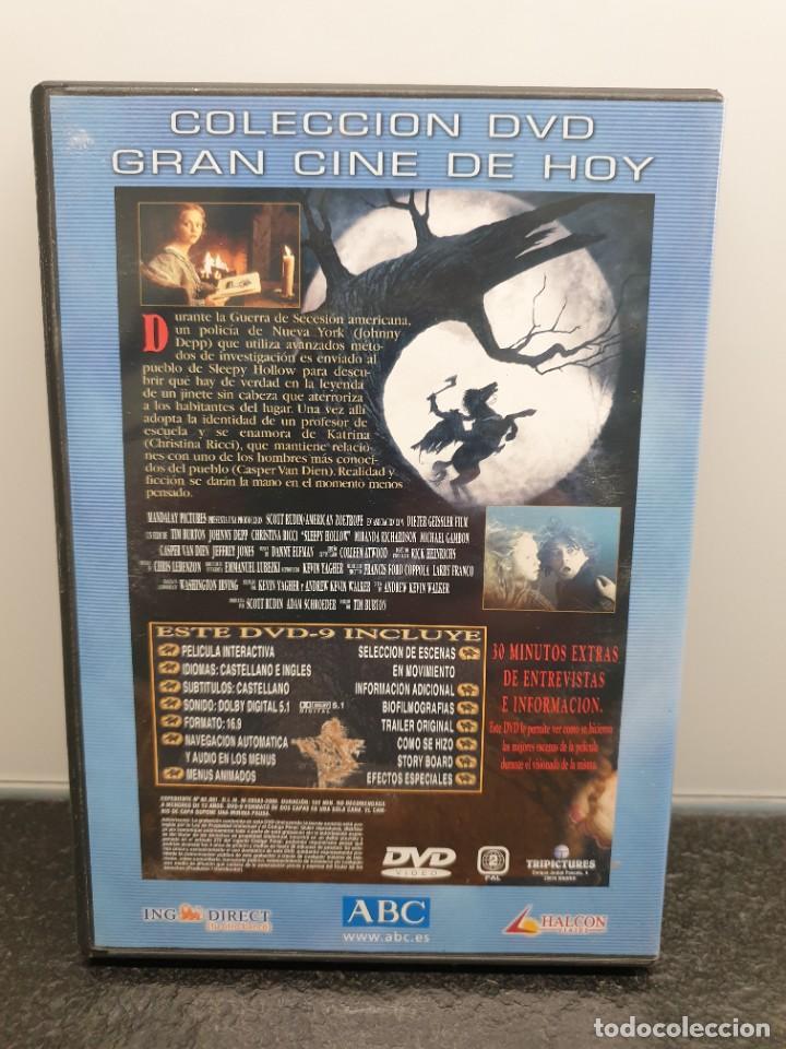 Cine: Sleepy Hollow - DVD. Tim.Burton, Johnny Depp, Christina Ricci, Christopher Walken - Foto 2 - 221434033