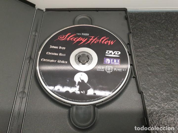 Cine: Sleepy Hollow - DVD. Tim.Burton, Johnny Depp, Christina Ricci, Christopher Walken - Foto 3 - 221434033