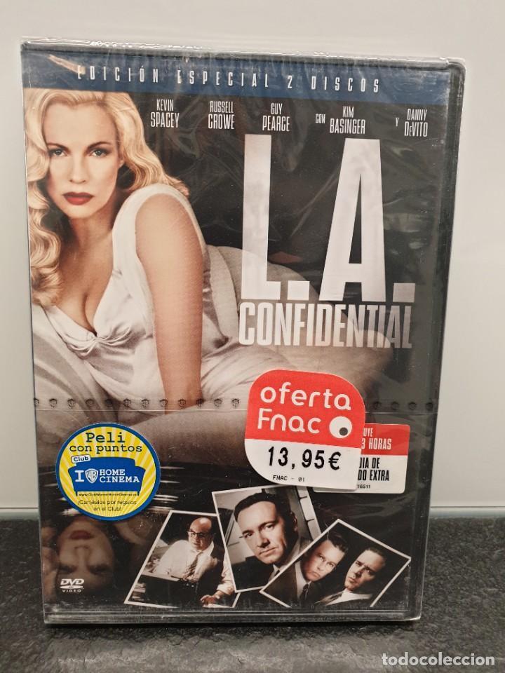 L.A. CONFIDENTIAL - DVD NUEVO PRECINTADO 2 DISCOS. RUSSELL CROWE, KEVIN SPACEY (ENVÍO 2,40€) (Cine - Películas - DVD)