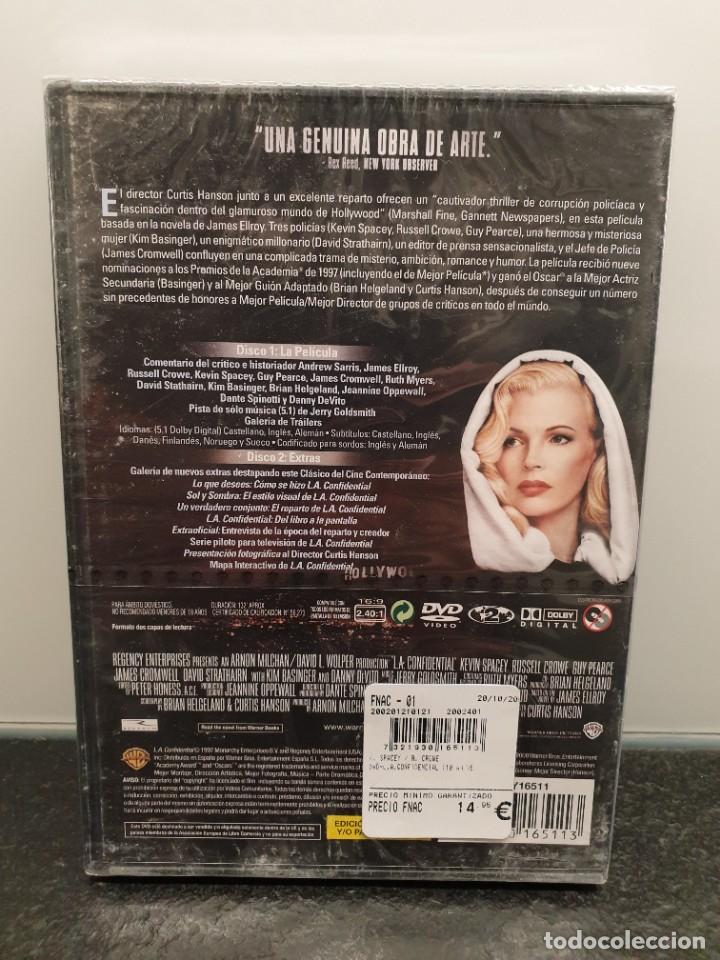 Cine: L.A. Confidential - DVD Nuevo Precintado 2 Discos. Russell Crowe, Kevin Spacey (Envío 2,40€) - Foto 2 - 221434160